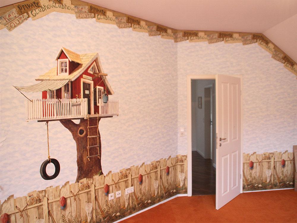 Tapezierarbeit Kinderzimmer